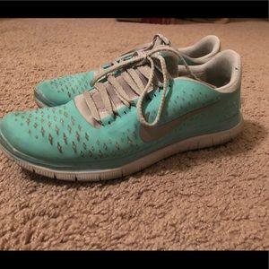 Tiffany Blue Nike Shoes